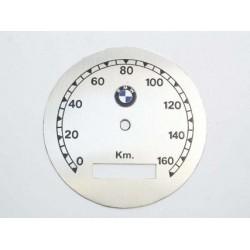 Speedo plate BMW, white,...