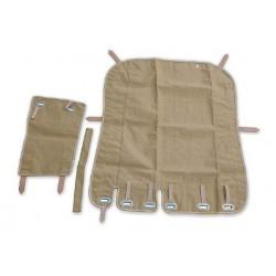 2-parts sidecar tent, beige...