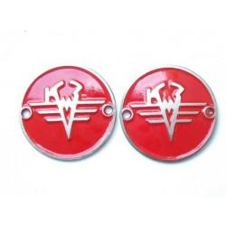 Tank badges KMZ, red
