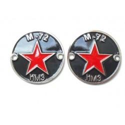 Tank badges, pair, M72