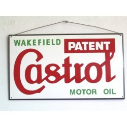 wall sign, CASTROL