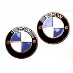 Bmw badges, copper, 70 mm