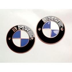 Bmw badges, copper, D 60...