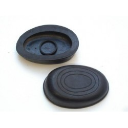 2, Knee rubber pads, Universal