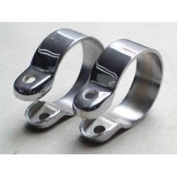 Silencer clamp, Cr, 44 mm