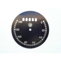 Speedo plate, VDO, D 76 mm