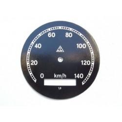 Speedo plate, Mav, D 78 mm