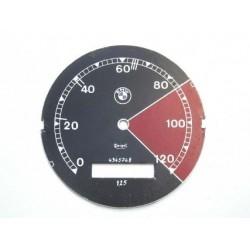 Speedo plate, BMW R12, D 78 mm