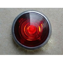 Control lamp glass red, d 16