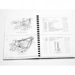 Spare parts list K750,...