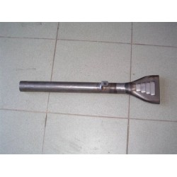 exhaust silencer fish-end,...