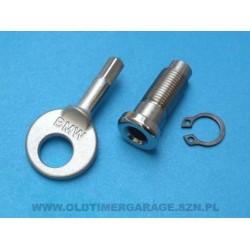 toolbox key & locking screw