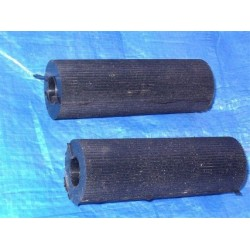 Footrests rubbers, pair,...