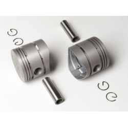 pistons set, with rings...