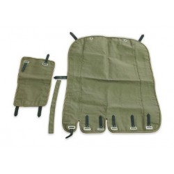 2-parts sidecar tent, green...